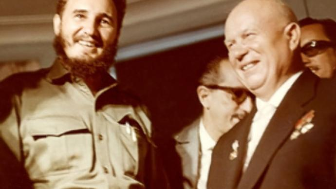 Khrushchev and Castro: insider photographs