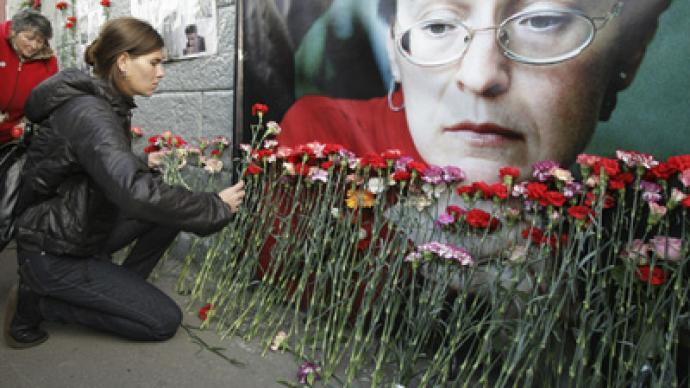 Alleged killer of Politkovskaya detained