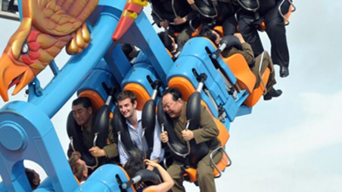 Boys just wanna have fun: Kim Jong-un takes UK diplomat for roller coaster ride