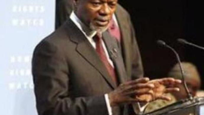 Kofi Annan calls on U.S. to review its foreign policy