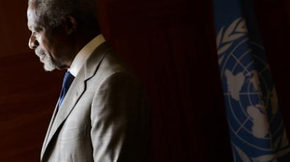 Regrets and fingerpointing as world powers swallow Annan's resignation