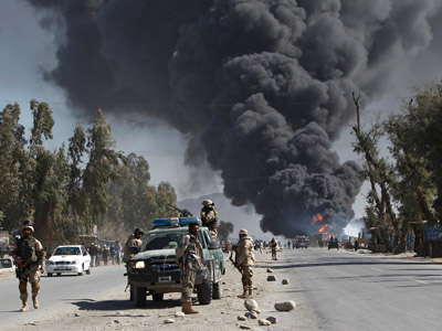 Confirmed: Afghan 'burn pits' wrecking US troops' health