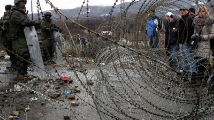 Kosovan Serbs to road-block border deal