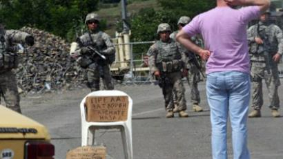 Kosovo border dispute escalates