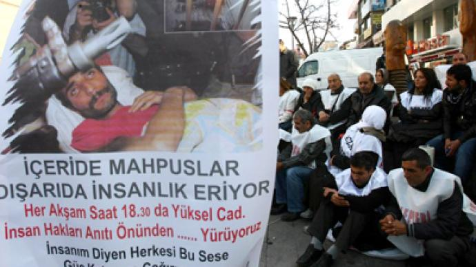 Kurdish prisoners in Turkey end hunger strike (PHOTOS)