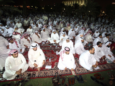 Kuwaitis take to streets ahead of crucial electoral ruling (PHOTOS)
