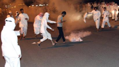 Kuwait cops use teargas, stun grenades against mass protest