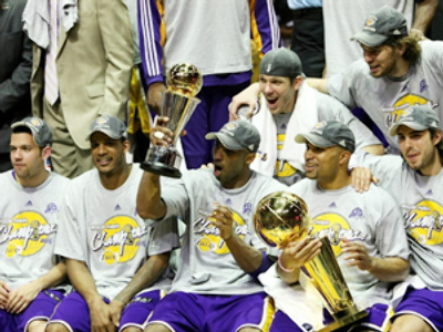 Lakers claim 15th NBA title