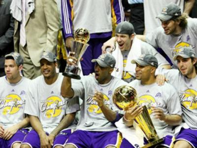 Battle in LA following Lakers' success