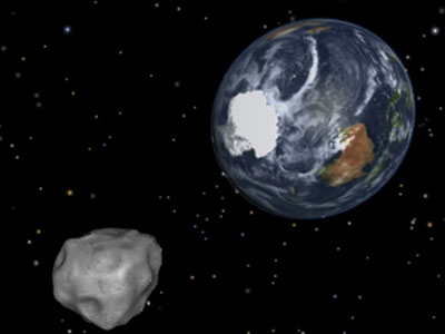 April Fools' fly-by: Four asteroids flash past Earth in one day
