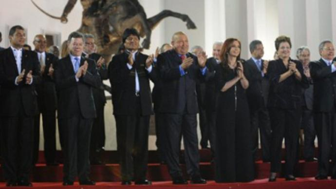 Latin America unites in new bloc, US not invited