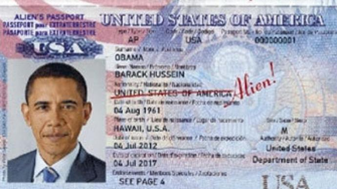 Obama and Clinton to get 'alien' passports in Latvia
