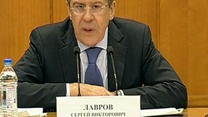 Lavrov: No success while Syria opposition is fanatical about ousting govt