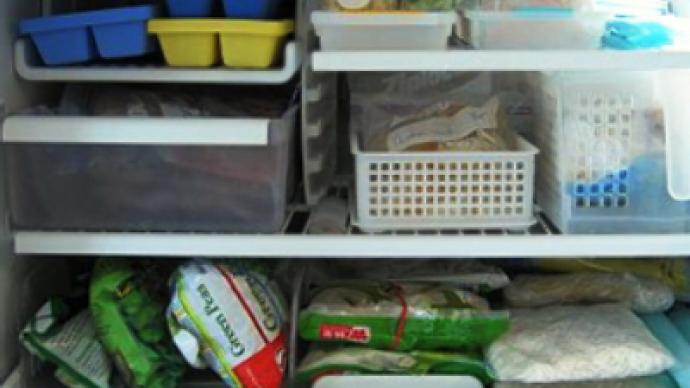 Lean times force Brits back to freezer