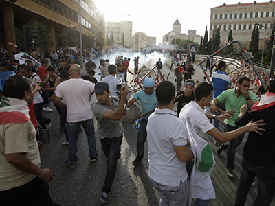Four killed in Lebanon clashes