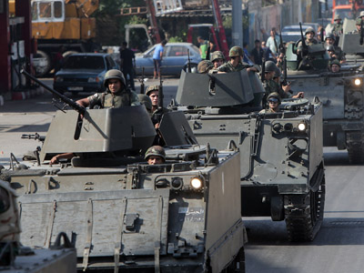 Lebanese Army imposes ceasefire between rival Tripoli factions