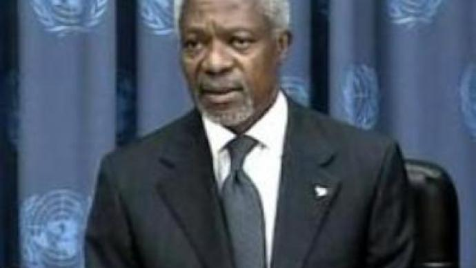 Lebanon's 'wake up call' – Annan