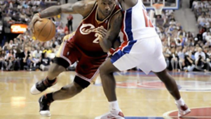 Lebron takes MVP title in NBA