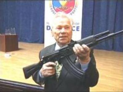 Legendary Rifle designer Kalashnikov turns 87