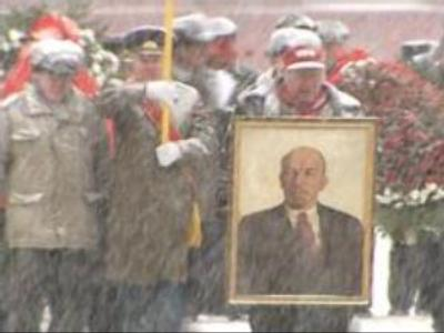 Lenin commemorated in Moscow