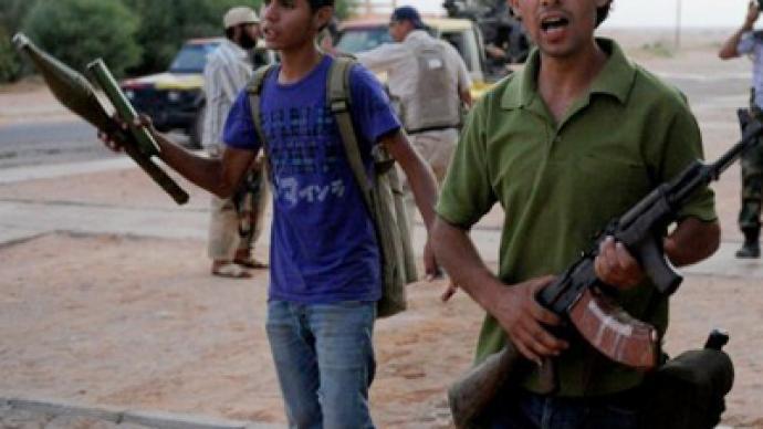 Rebels assault pro-Gaddafi strongholds
