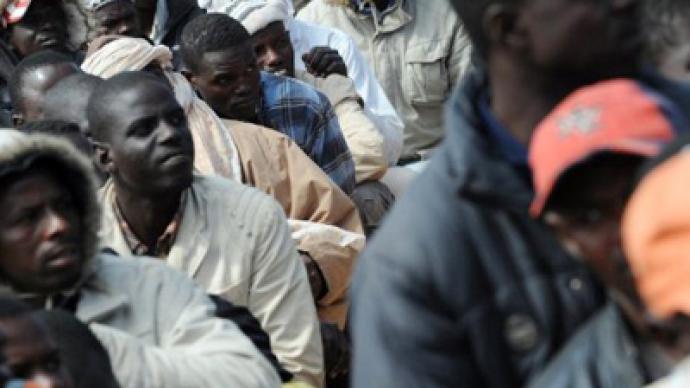 Black migrants barred from fleeing Libya