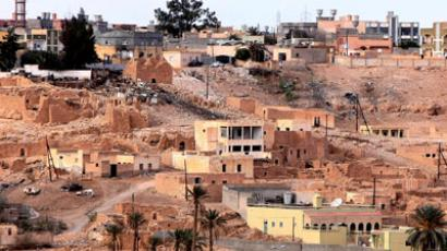 A year on from Gaddafi's death: Govt forces pummel Bani Walid