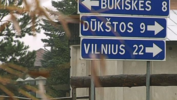 Tongue-tied: Lithuania's Polish minority banned from using native language
