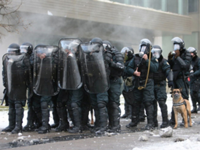 """Lithuanian police on short """"rations"""""""