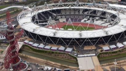 'Politics darkens the 2012 London Olympics'