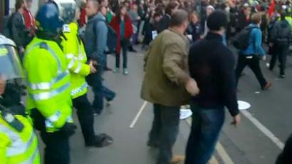 Trial of UK protesters: Student beaten half-dead 'was looking for it'