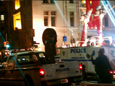 LRAD vs OWS: Sound cannons rolled out for Zuccotti park raid
