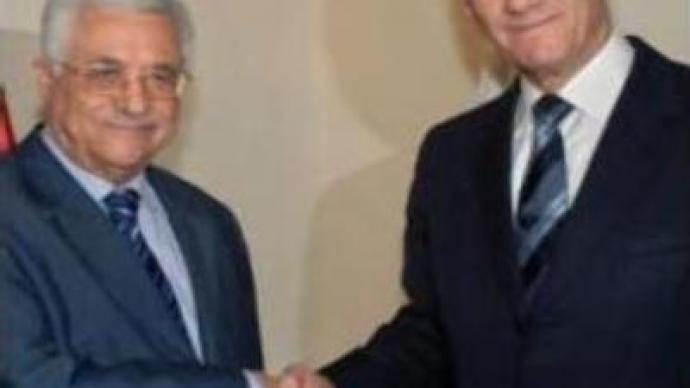 Mahmoud Abbas & Ehud Olmert to meet regularly