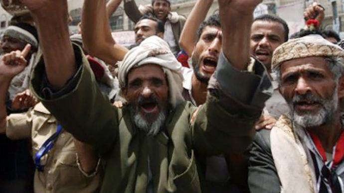 Major protests in Yemen as nation awaits president's address