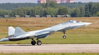 Declassified: 'Russian stealth' T-50 Fighter debut