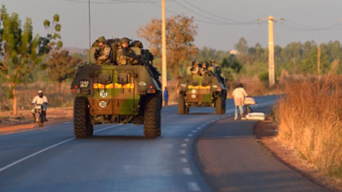 Mali crisis: France moves troops to the front line