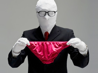 Man busted for wearing too much underwear