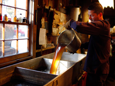 Luscious loot: Millions of dollars' worth of maple syrup stolen