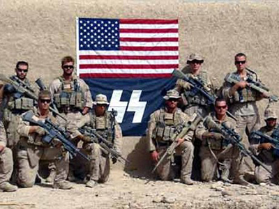 SS = Scout Snipers: US Marines adopt Nazi goons emblem