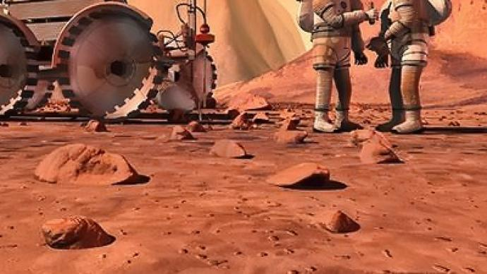 """""""I hope to see man on Mars in my lifetime"""" - commander of ISS expedition"""