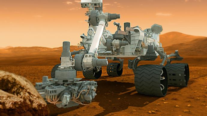 NASA seeing red: $2.5 billion Mars rover to dig for proof of life