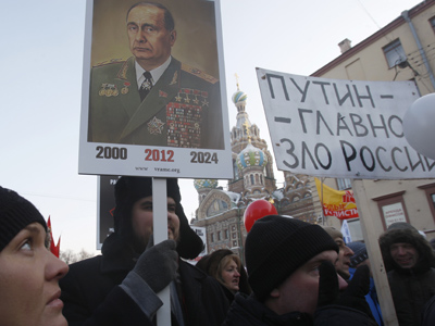 Political complaints remain a rarity in Russia