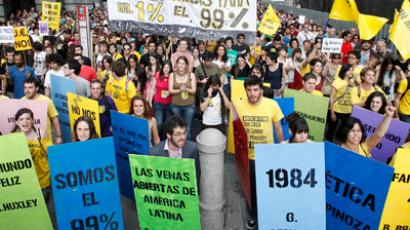 Miners' strike: 14 injured as thousands rally in Madrid (PHOTOS, VIDEO)