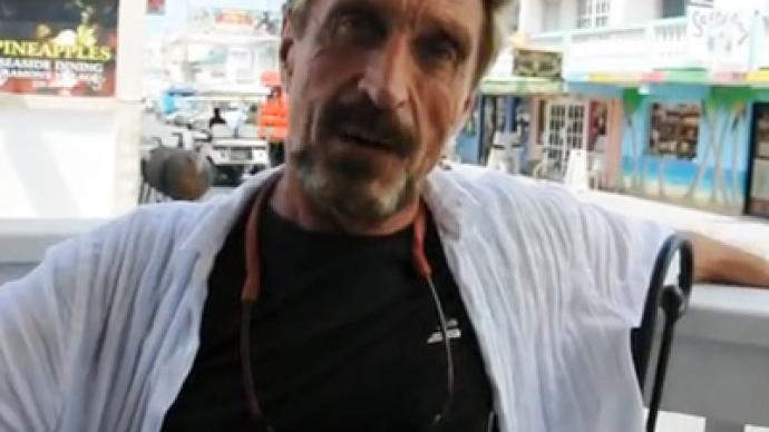 McAfee bugs out: AntiVirus guru hits rock bottom after fleeing murder charge
