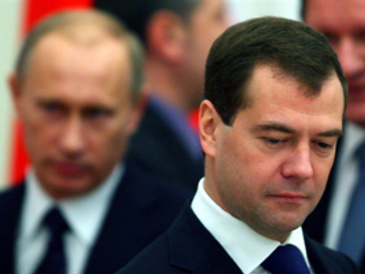 A tough year in office for Medvedev