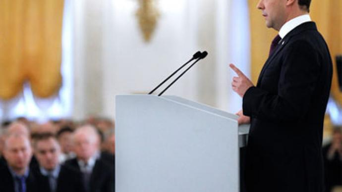 Russian President delivers annual public address