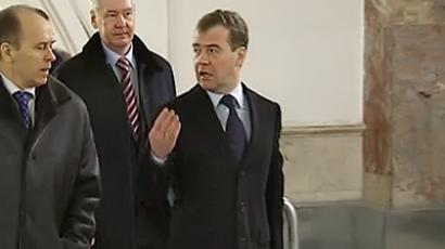 Three days given to tighten security after President Medvedev's surprise visit