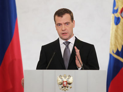 Reform talk: Medvedev`s speech shaped by protests?
