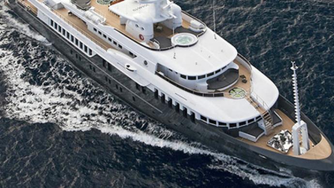 """Medvedev's yacht"" tested in Sochi"