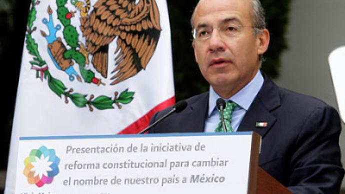 Mexican president seeks distance from US in proposed change to country's name